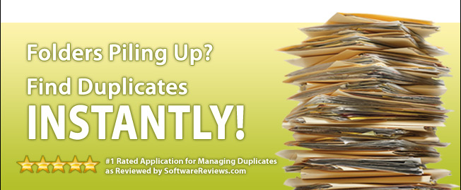 Folders Piling Up?  Find Duplicates INSTANTLY!