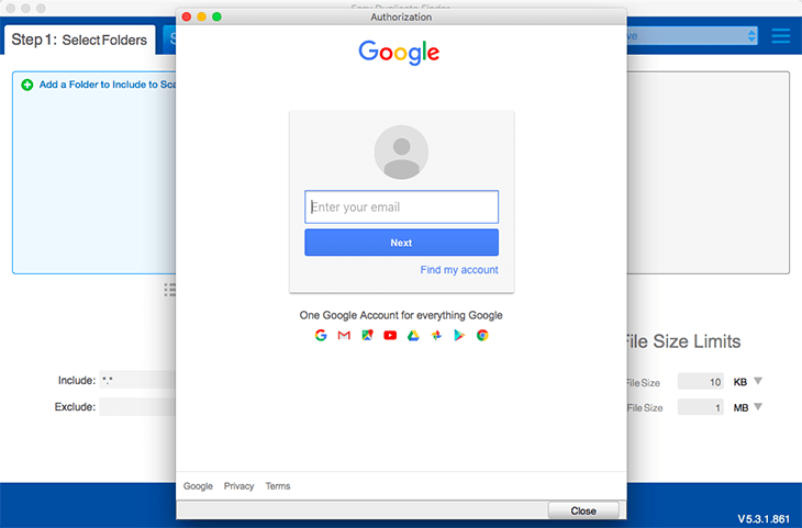 Clean your Google Drive Account